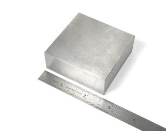 Econo Steel block 2.5x2.5x1 inch  Great for stamping and wire working