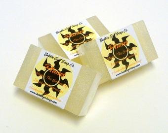 Magic The Gathering Soap PLAINS Land Mana Mini Guest Bar Handmade Glycerin Soap MTG Sandalwood Vanilla