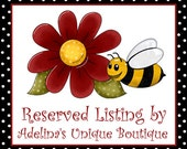 RESERVED Listing for Cliff Shivers