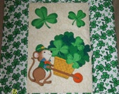 Irish or St. Patrick's Day Wall Hanging