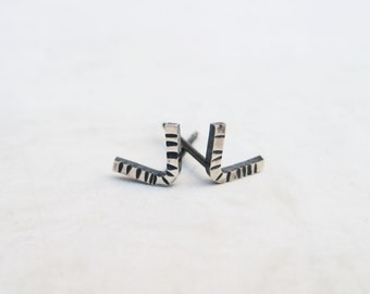SALE | Silver Stud Earrings | Meridian Posts