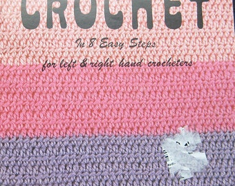 Learn To Crochet Pattern Book Susan Bates