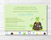 Cute Turtle Baby Shower I...