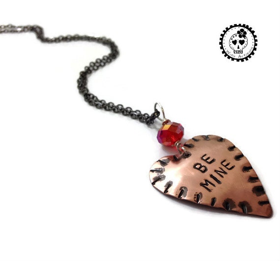 Be Mine Heart Pendant Necklace