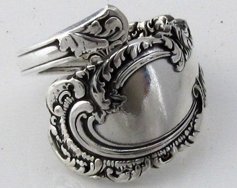 Spoon Ring Demitasse Choose Your Size Aldine 1895