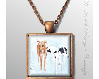 HorizonCottage's Hounds by Asta Lander Antique Copper Finish