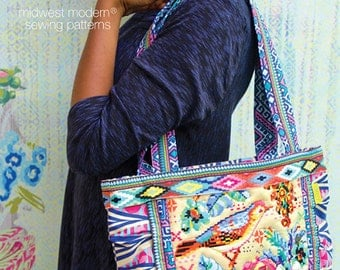 Amy Butler La Boheme Tote Sewing Pattern, FREE SHIPPING
