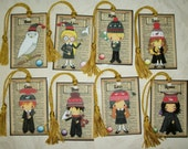 PERSONALIZED Laminated ORNAMENTS - DeCORATIONS - A set of 12 Laminated Ornaments - Harry Potter Inspired - CO 230
