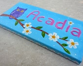 Custom personalized painted sign