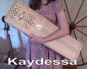 wool picker made of pine,  spinning wheel roving fiber weaving carder