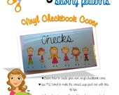 How to Sew a Vinyl Checkbook Cover by Mommy's Thimble