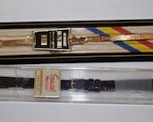 Two Vintage Speidel and Medalish replacement Watch Bands - NIP