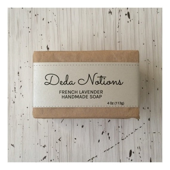 French Lavender - OLIVE & SHEA BUTTER Soap - Cold Process Soap