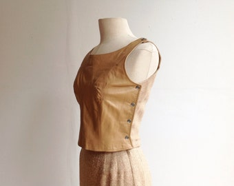1950s Bonnie Cashin Leather and Tweed Ensemble.