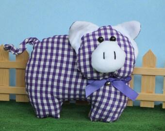 cute handmade piggy