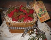 Basket of Prim Strawberries