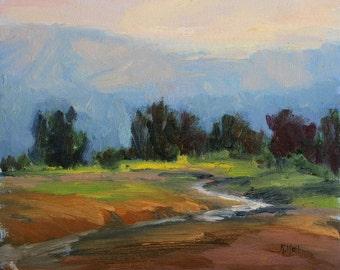 California Plein Air Landscape Painting