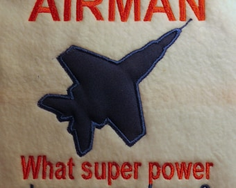 My Uncle is an Airman Embroidery Designs - 5x7 Frames - CUSTOM REQUEST WELCOME