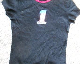 HARLEY T SHIRT, VINTAGE, ladies, black, sparkle, usa made, harley davidson wear, clothes,