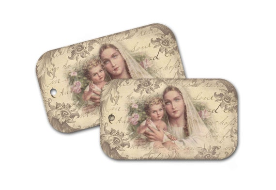Madonna and child tag easter gift tag madonna religious gift tag madonna and child tag easter gift tag madonna religious gift tag mary and child gift tag sacred gift tag from dorothyjanepaperie on etsy studio negle Gallery