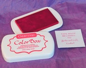 CHERRY/BRIGHT RED Color Box by Stephanie Barnard Dye Ink Pad