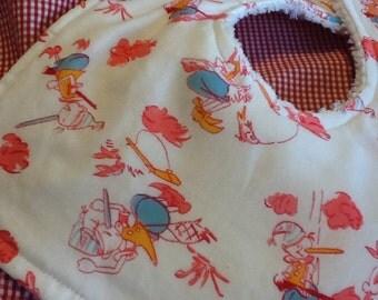 Pinocchio's Adventures Drool Bib