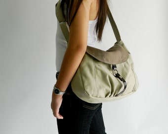 Sale Sale Sale 30% - Claire in Two Tone Messenger bag,Diaper bag,Tote,Purse,Handbag,Cross body,Women,For her,School bag