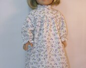 Reduced -  1934-400 - 18 Inch Doll Nightgown fits Kit