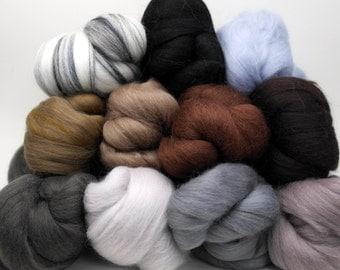 Merino Wool Color Pack - Neutral Colors