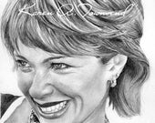 Lauren Holly Original Drawing