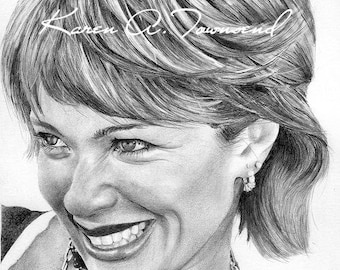 Lauren Holly Original Drawing
