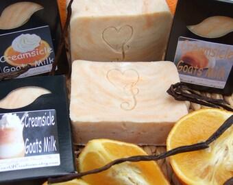 CREAMSICLE GOAT MILK Soap