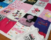 Custom made Memory Quilts made from Baby Onesies