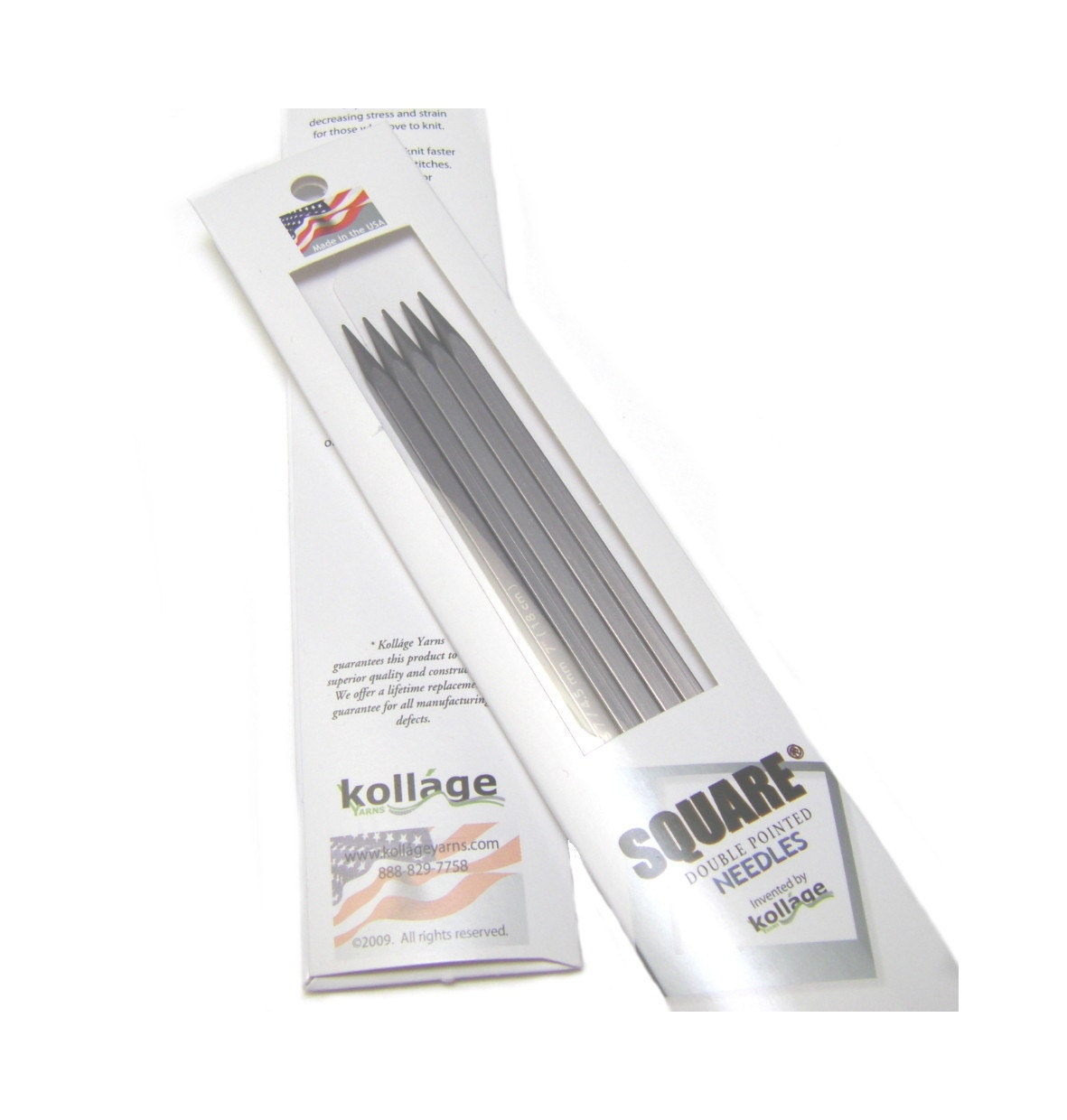 Kollage Knitting Needles : Kollage Square double pointed knitting needles US9 by knit1sip2