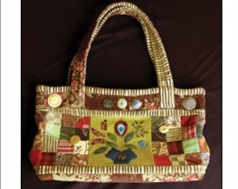 """Sue Spargo Patterns-Victoria Knitting & Sewing Tote 21""""X14"""""""