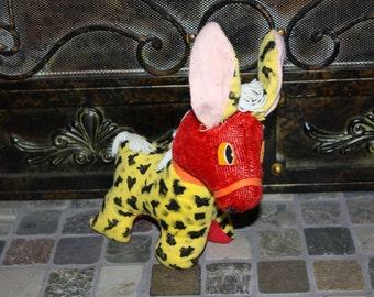 Vintage Donkey Stuffed Animal YOSKI PETS made in JAPAN