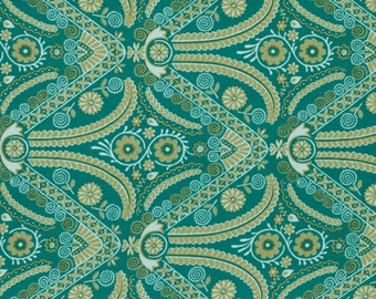Cotton Quilting Fabric | Amy Butler fabric | Hapi Filigree Bamboo