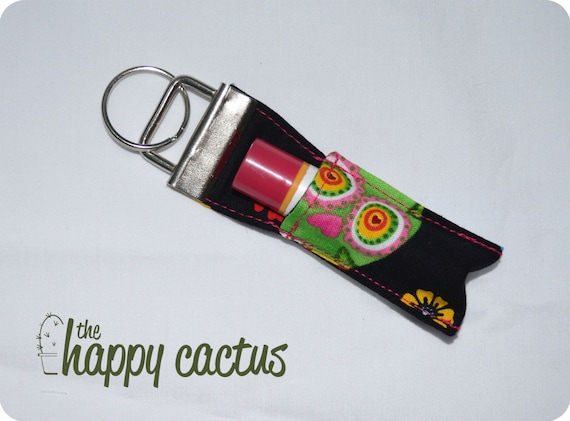 Day of the Dead Sugar Skull Lipgloss Keychain
