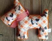 Simon Vintage Chenille Plush Scotty Dog