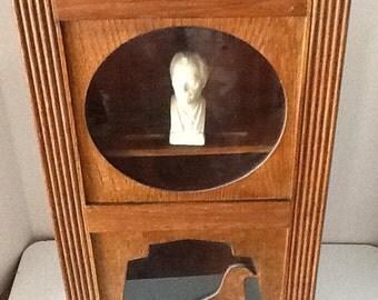 Vintage Solid Wood Modern Clock Case Cabinet