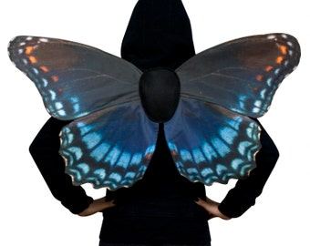 Red-Spotted Blue Costume Butterfly Wings - Made to Order