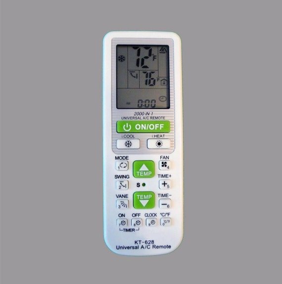 Universal ac remote control for ductless mini split air by for 1000 in 1 universal a c remote code table