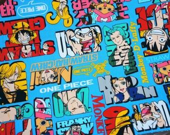 Japanese Anime  Fabric One piece anime  comic edition half meter