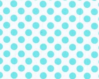 FAT QUARTER- Ta Dot Aqua Blue Michael Miller Fabric Quilt CX1492-AQUA-D