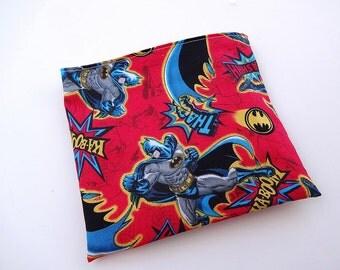 Red Batman Reusable Snack Bag