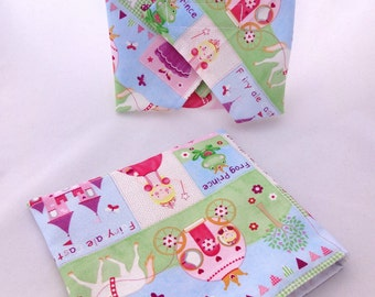 Pretty Princess Lunch Duo - Sandwich Wrap and Snack Bag