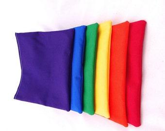 Rainbow Reusable Snack Bag - Set of 6