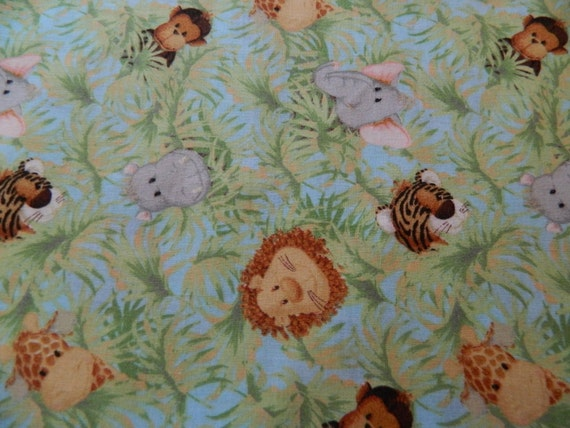 Jungle babies patty reed designs children 39 s by for Childrens jungle fabric