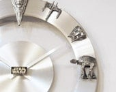 Star Wars Starships and Fighters Clock