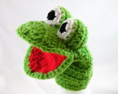 Special Listing for MaryTodays - Three Finger Puppets and a Singing Frog